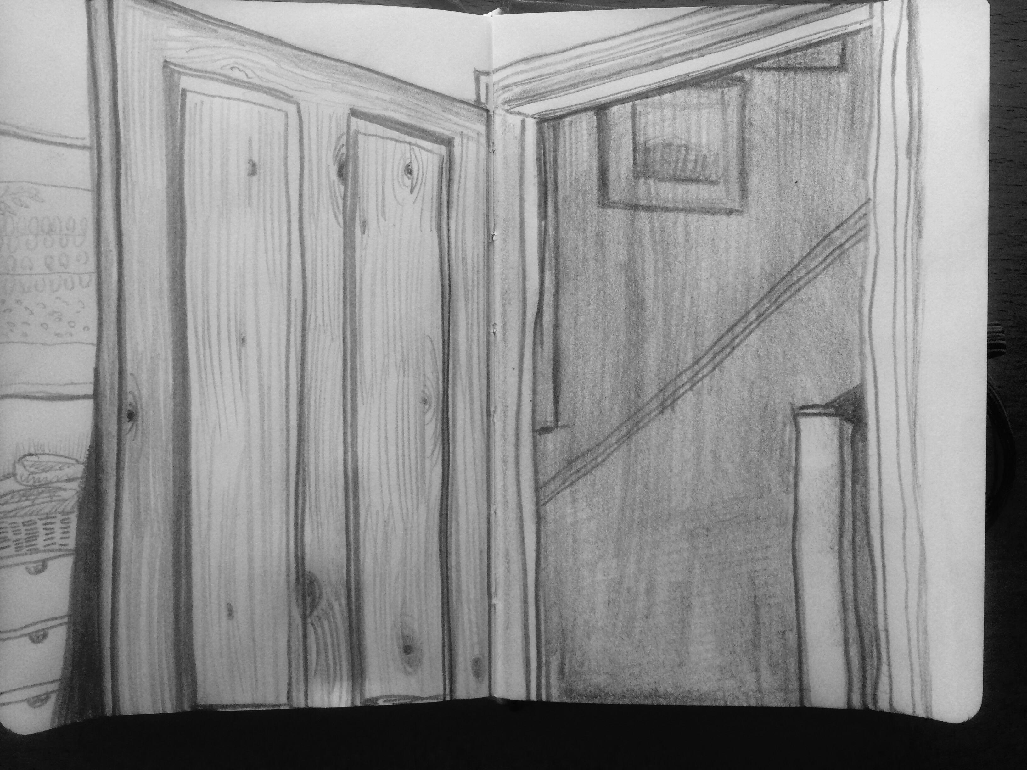 Top Half Of Open Door